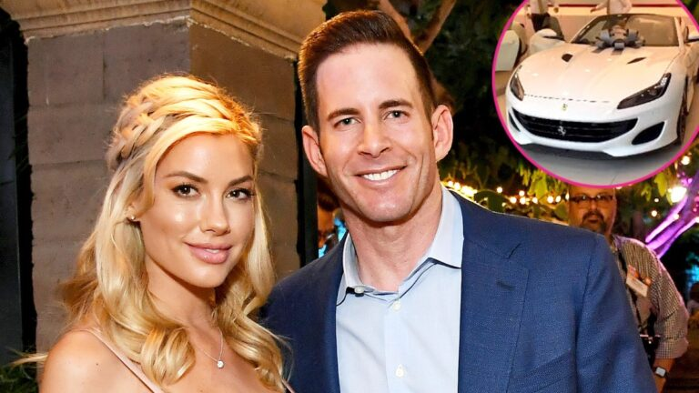 Tarek El Moussa Presents Ferrari to Girlfriend Heather Rae Young