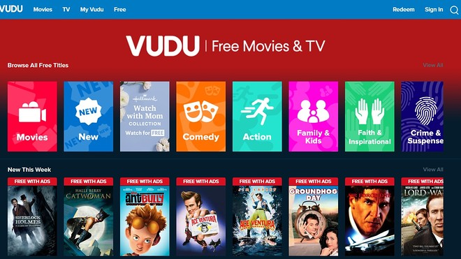 Vudu- other sites like Putlocker