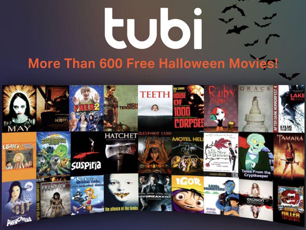 Tubi- online movie streaming sites