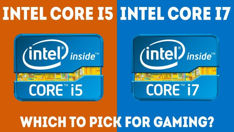 Intel Core i7 Vs Core i5