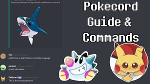 pokecord commands